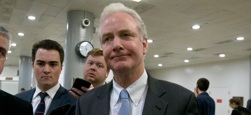"""Sen. Chris Van Hollen D-Md., said: """"The Trump administration has blatantly disregarded the Constitution – and with it, Congress' power of the purse."""""""