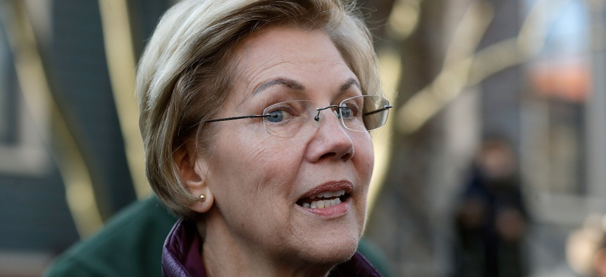 Sen. Elizabeth Warren, D-Mass., and other Democrats introduced a coronavirus ethics and oversight bill.
