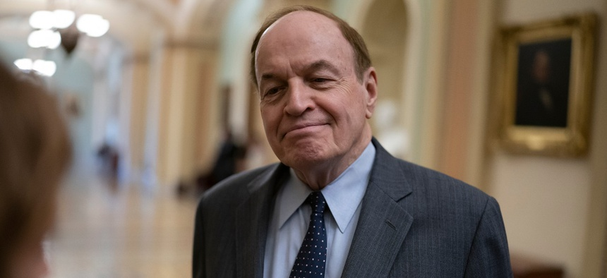 "Sen. Richard Shelby, R-Ala., said he ""will not allow the appropriations process to be hijacked and turned into a partisan sideshow."""