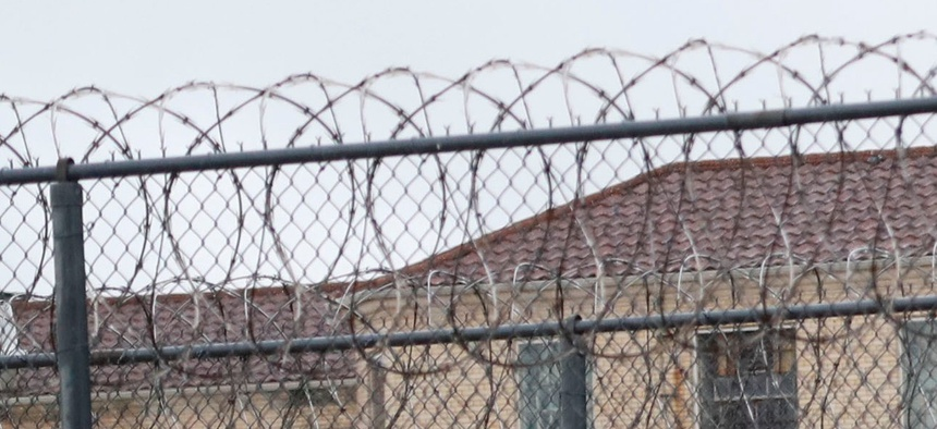 Buildings of the Federal Medical Center prison in Fort Worth, Texas.