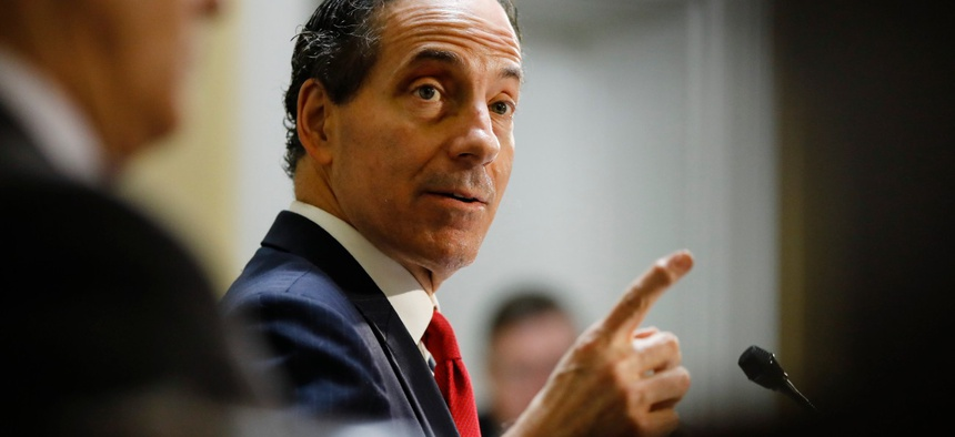 """""""The administration covered up a clear legal opinion by the Department of Justice finding that its plan to dismember and dissolve OPM was unlawful,"""" said Rep. Jamie Raskin, D-Md."""