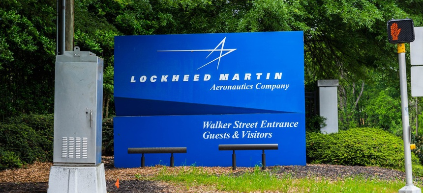 Lockheed Martin Corp. was the top federal contractor in fiscal 2019.