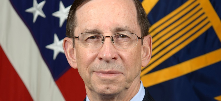 Mark Easton is the Defense Department's deputy chief financial officer.