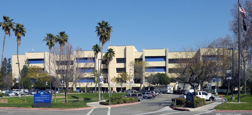 The VA Loma Linda Health Care System in California is shown in 2009.
