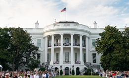 The White House celebration on July 4.
