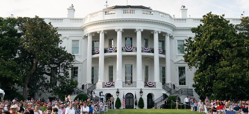 The White House celebration on July 4.