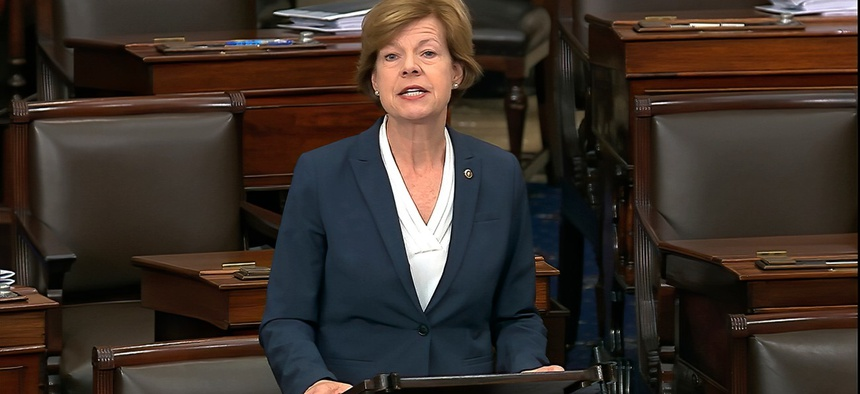 "Sen. Tammy Baldwin, D-Wis., one of the bill's sponsors, said: ""It is past time to pass [the act]."""
