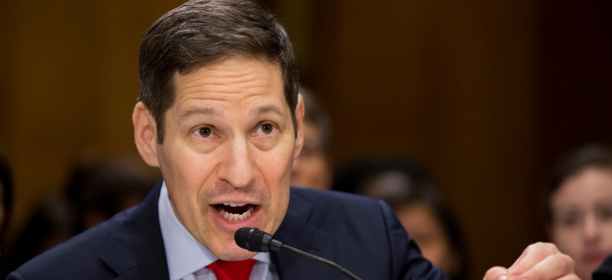 Dr. Tom Frieden testifies on Capitol Hill in 2016. Frieden was CDC director for much of the Obama administration.