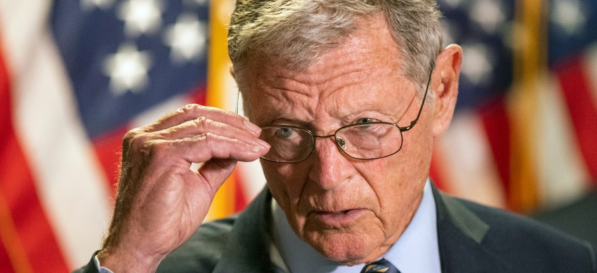 Senate Armed Services Committee Chairman Jim Inhofe, R-Okla., said Tata's confirmation hearing was canceled because the committee had not received the necessary paperwork in time to adequately vet him beforehand.