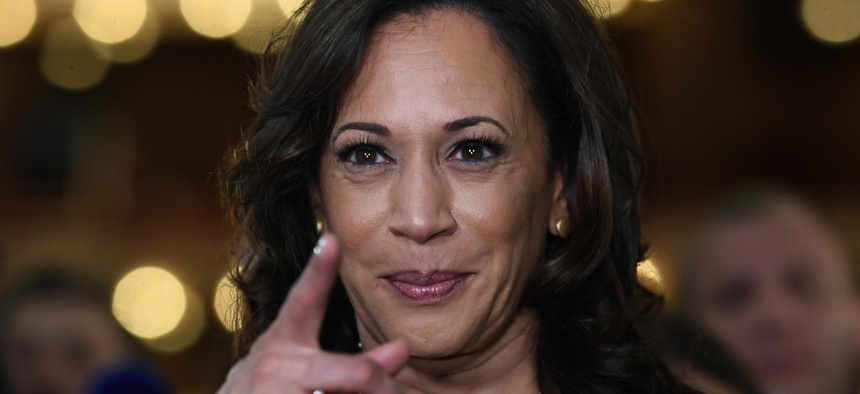 Here S A Look At Kamala Harris Record On Federal Workforce Issues Government Executive