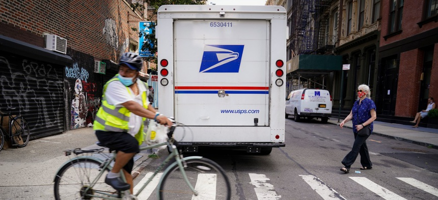 Postal delays are causing widespread concern as the election approaches, sparking worry that mail-in ballots won't be counted.