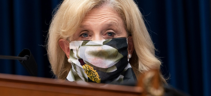 Rep. Carolyn Maloney, D-N.Y., chairwoman of the House Oversight and Reform Committee, is one of the lawmakers seeking an investigation of the ICE whistleblower's allegations.