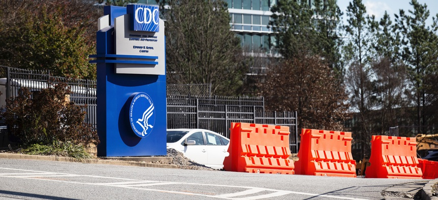 The CDC headquarters is shown in March in Atlanta.