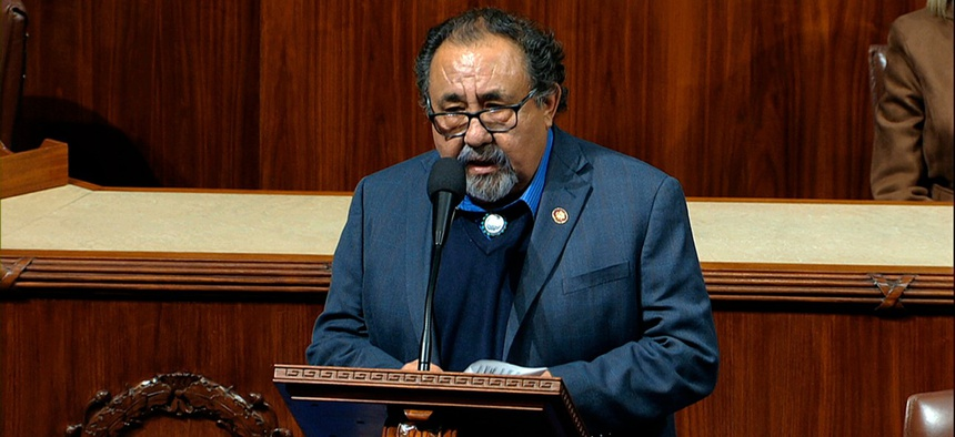 Rep. Raul Grijalva, D-Ariz., spearheaded the letter.