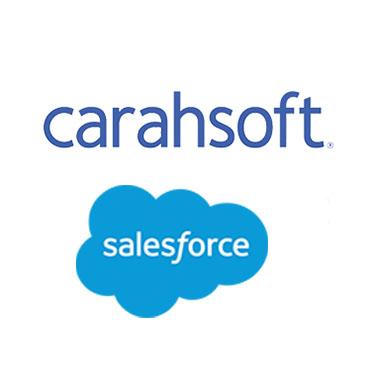Carahsoft and Salesforce's logo