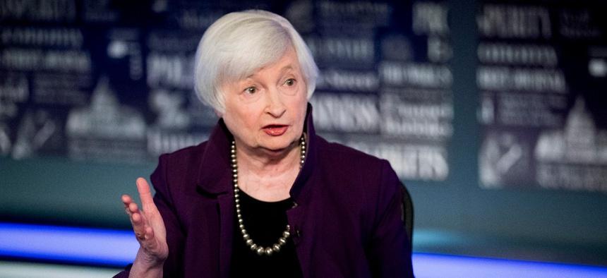 Treasury secretary-designate Janet Yellen said she looks forward to working with the public servants at Treasury and rebuilding public trust.