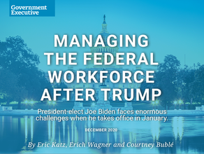 Managing the Federal Workforce After Trump