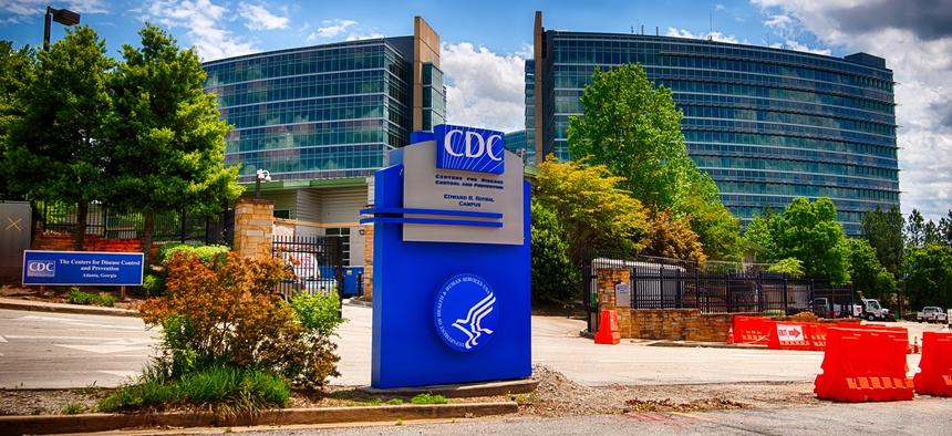 CDC's headquarters in Atlanta are show in April.