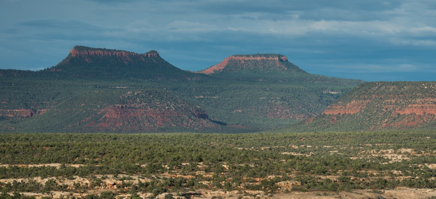 Bears Ears National Monument is shown.