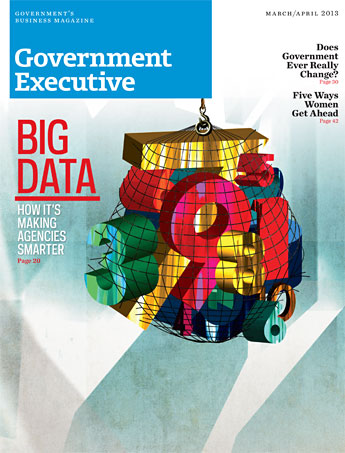 Government Executive : Vol. 45 No. 2 (March/April 2013)  Magazine Cover