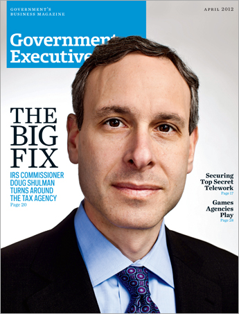 Government Executive : Vol. 44 No. 4 (4/1/12)  Magazine Cover