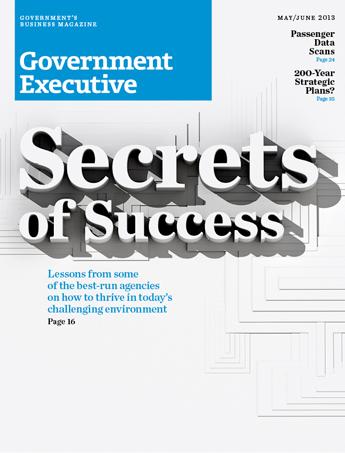 Government Executive : Vol. 45 No. 3 (May/June 2013)  Magazine Cover