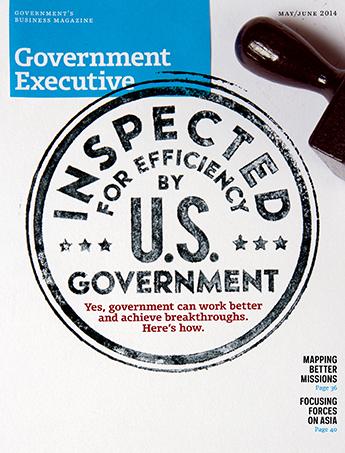 Government Executive : Vol. 46 No. 3 (May/June 2014)  Magazine Cover