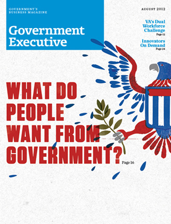 Government Executive : Vol. 44 No. 8 (8/1/12)  Magazine Cover