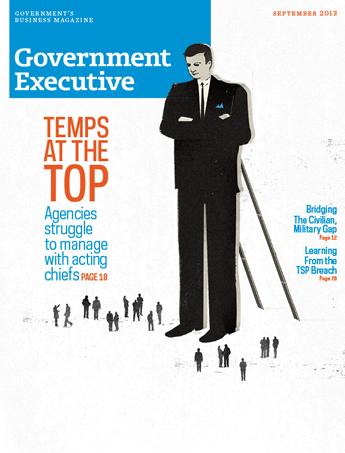 Government Executive : Vol. 45 No. 6 (September 2013)  Magazine Cover