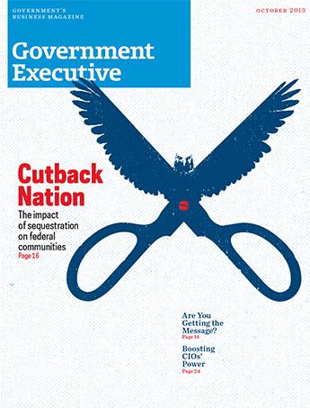 Government Executive : Vol. 45 No. 7 (October 2013)  Magazine Cover