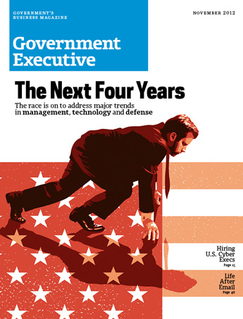 Government Executive : Vol. 44 No. 12 (11/1/12) Magazine Cover