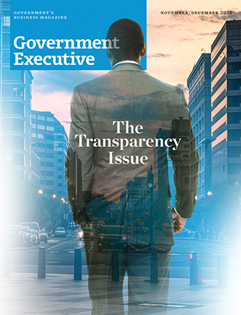 Government Executive : Vol. 47 No. 6 (Nov./Dec. 2015) Magazine Cover