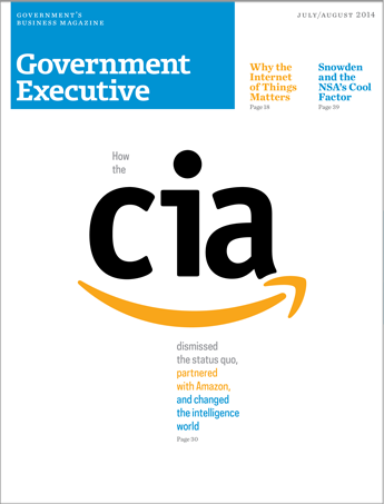 Government Executive : Vol. 46 No. 4 (July/Aug. 2014)  Magazine Cover