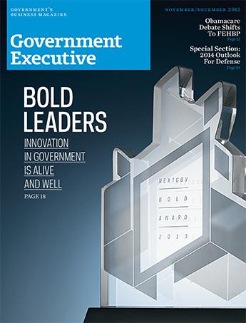 Government Executive : Vol. 45 No. 8 (Nov/Dec 2013)  Magazine Cover