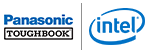 Panasonic Intel (panasonic-q32017) logo
